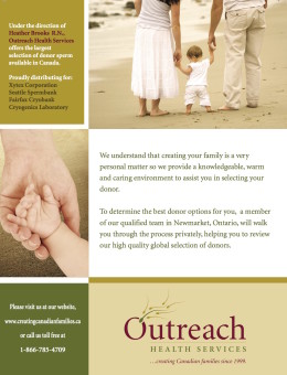 OUTREACH FUll page ad